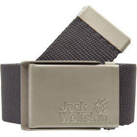 Jack Wolfskin Webbing Wide Belt dark steel